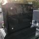 黒御影石 2m×2mバリアフリータイプ外柵/黒御影石 デザイン墓石