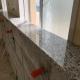 公共工事(学校トイレの面台石)