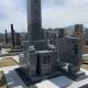 大島石 神徒型墓石を設置させて頂きました。