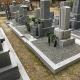 墓地前踊り場設置