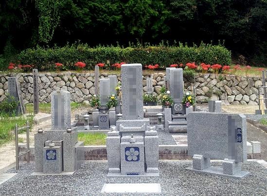 代表墓と墓相墓 6.5㎡