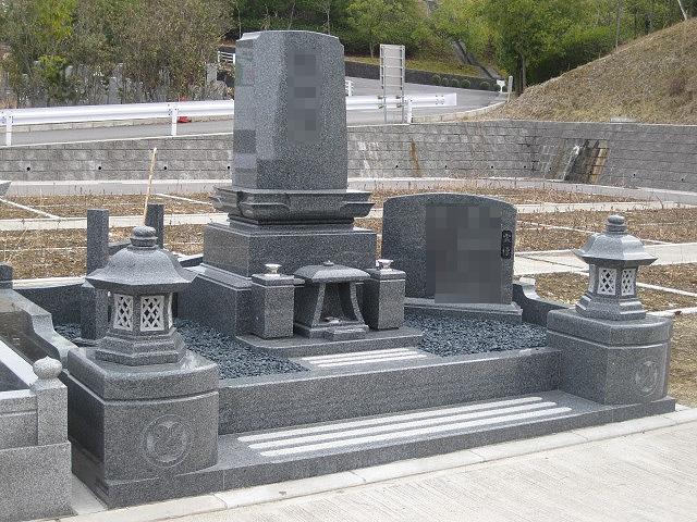 和の雰囲気も交えた洋墓 6㎡