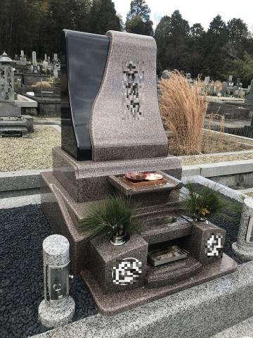 ダラニ型 デザイン墓石