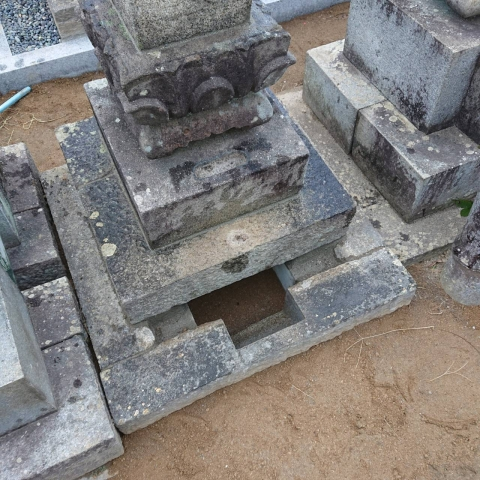 既存のお墓に納骨室を設置